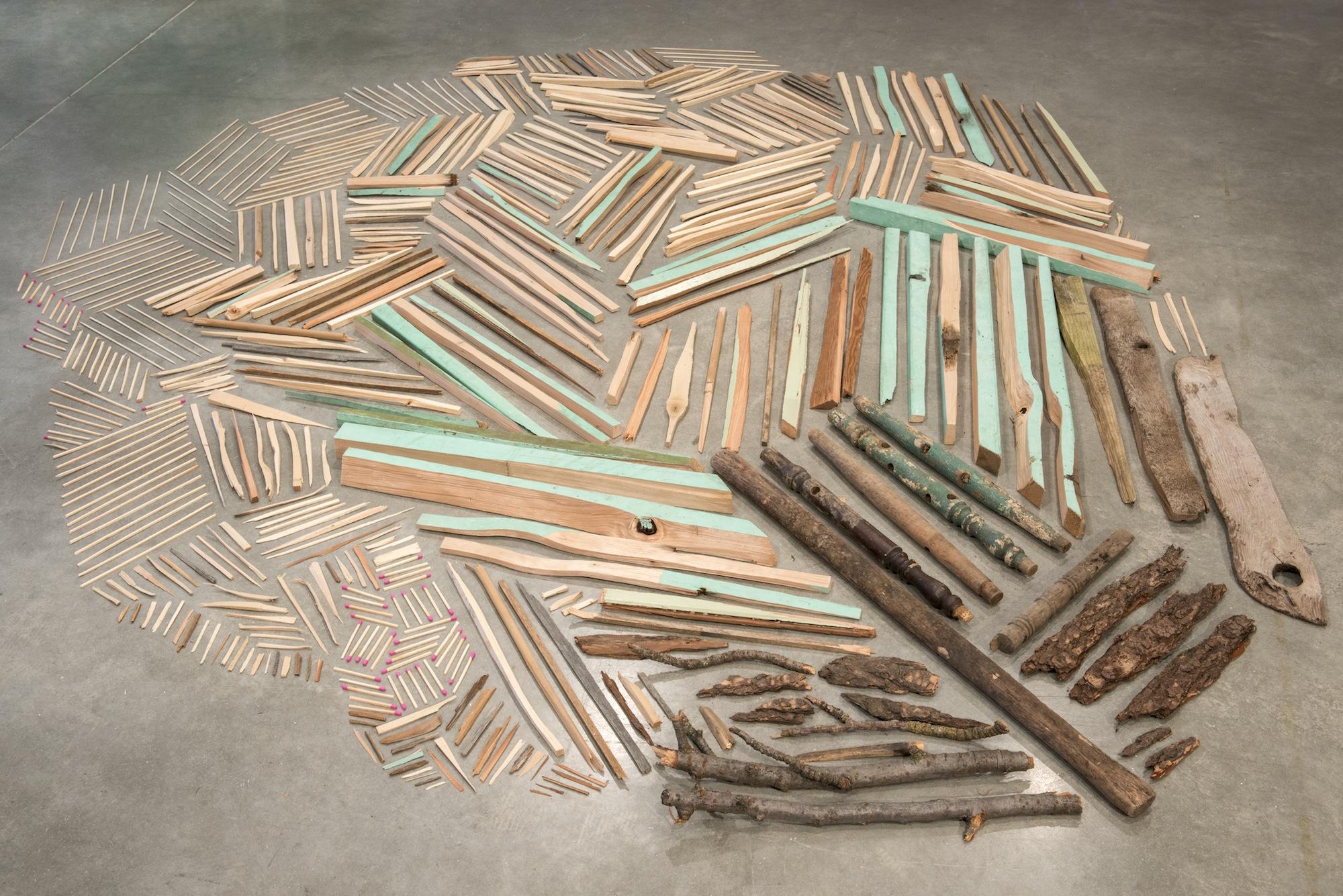Sticks #1, 2014